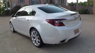HD VIDEO 2014 BUICK REGAL GS TURBO NAVIGATION LOADED INFO WWW SUNSETMOTORS COM
