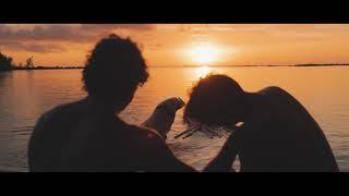 riding giant mediterranean beef squids in bora bora