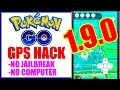 NEW WORKING POKEMON GO TELEPORT HACK 1.9.0!! NO JAILBREAK NO COMPUTER!! TAP TO WALK + TELEPORT