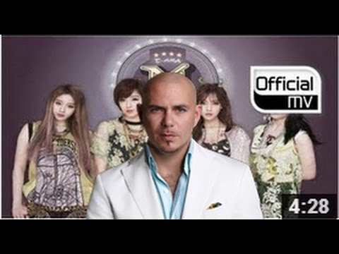 [MV] T-ARA N4 FT. PITBULL Remix (티아라 N4) Jeon Won Diary(전원일기)