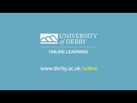 Welcome to the University of Derby Online Learning