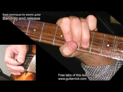 10 Electric Rock Guitar Techniques for Beginners by GuitarNick