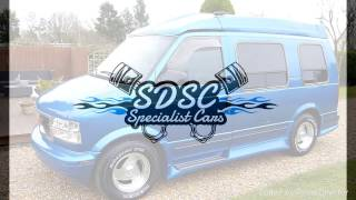 1995 GMC Safari AstroVan Custom Day Van For Sale SDSC Specialist Cars Cambridge UK