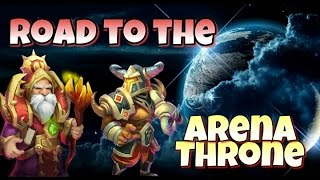 Castle Clash Road to the Arena Throne!