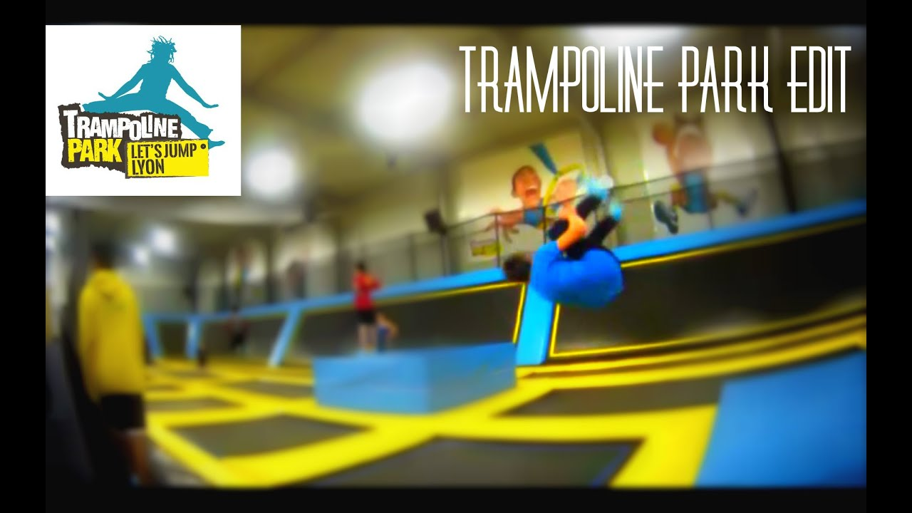 trampoline park lyon f vrier 2k16 youtube. Black Bedroom Furniture Sets. Home Design Ideas