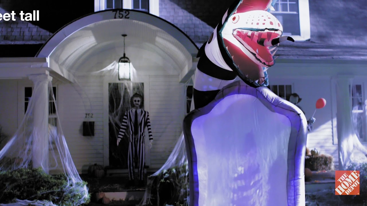 Up Your Game This Halloween With A Creepy Inflatable