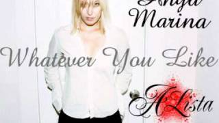 Anya Marina - Whatever You Like (A-Lista I Like Trance Mix)