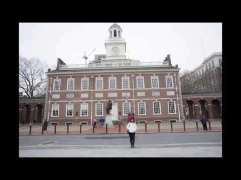 Visiting to Liberty Bell Center-Philadelphia