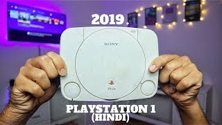 Playing My 10 Years Old PLAYSTATION 1 In 2019.