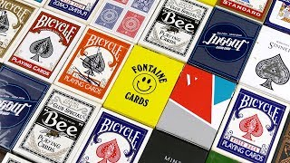 PLAYING CARD COLLECTION 2018