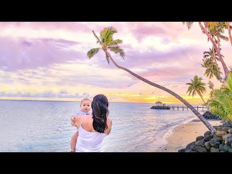 ✈ Family Fun Holiday Apia SAMOA with Baby ♡ Travel Vlog 1