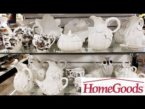 HOMEGOODS KITCHENWARE FALL IDEAS DECOR SHOP WITH ME 2018