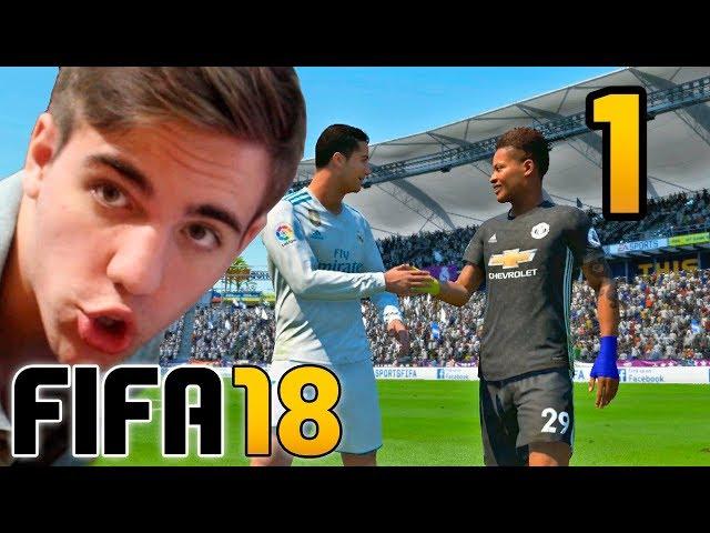FIFA 18 El Trayecto CAPITULO 1 - ALEX HUNTER Gameplay Fran MG | Modo Historia COMPLETO