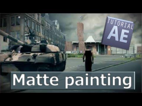After Effects Tutorial - Matte Painting #19 [ Deutsch/German ]
