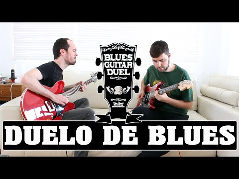 Duelo de Guitarra Blues - Como tocar Pregunta/Respuesta - Licks Blues