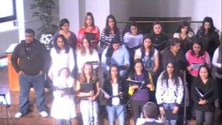 Shude tu  as sung by the Gandhi School Choir in Pecs, Hungary