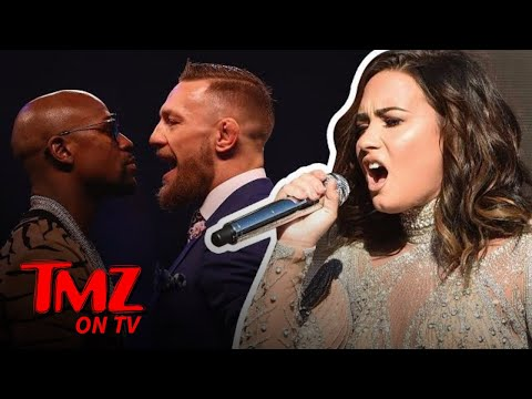 Demi Lovato To Sing National Anthem At Mayweather Vs McGregor  TMZ TV
