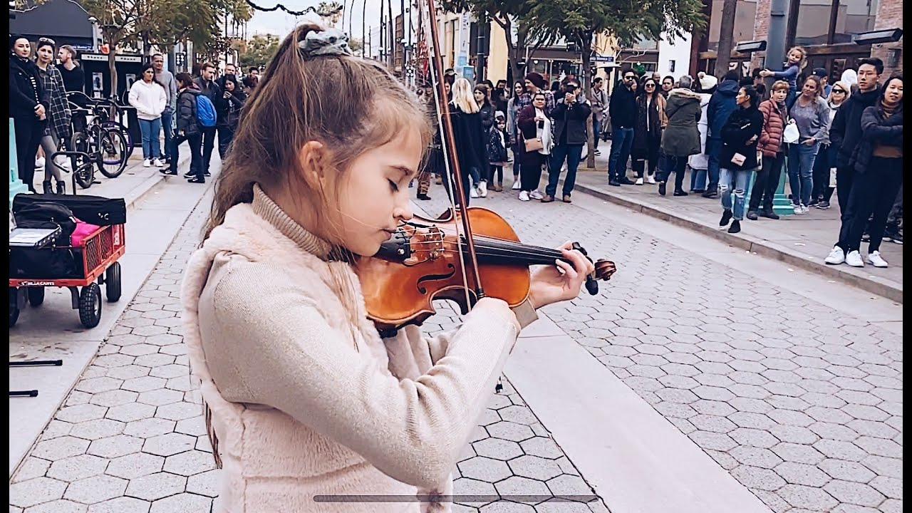on facebook violin show the for goes cover