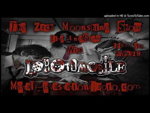 Lobotomobile - Interview 2019 - The Zach Moonshine Show