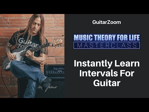 Instantly Learn Intervals For Guitar | Music Theory Workshop – Part 4