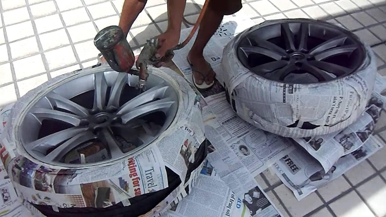 2011 Hyundai Genesis Coupe Mags Painting Job Painting Gun Metal