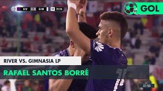 Rafael Santos Borré (2-0) River vs Gimnasia LP | Fecha 14 - Superliga Argentina 2018/2019
