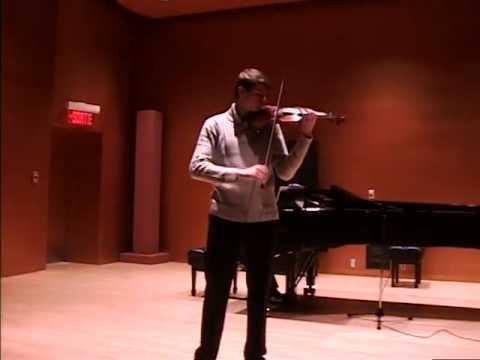 Barber Concerto Op. 14 - Presto (Roman Fraser)