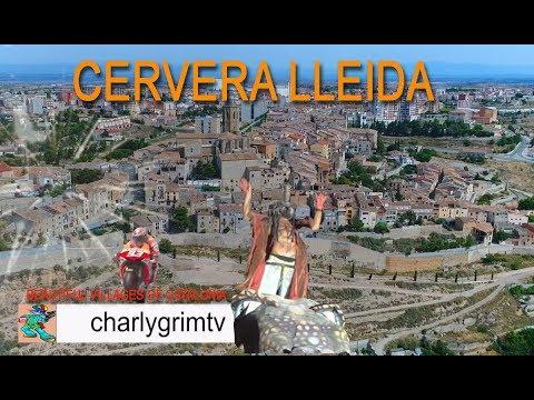Cervera Lleida, Beautiful villages of catalonia, Dji phantom 4 pro, charlygrimtv, city  marc marquez