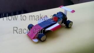 how to make a  race car/electric car (f1 car)