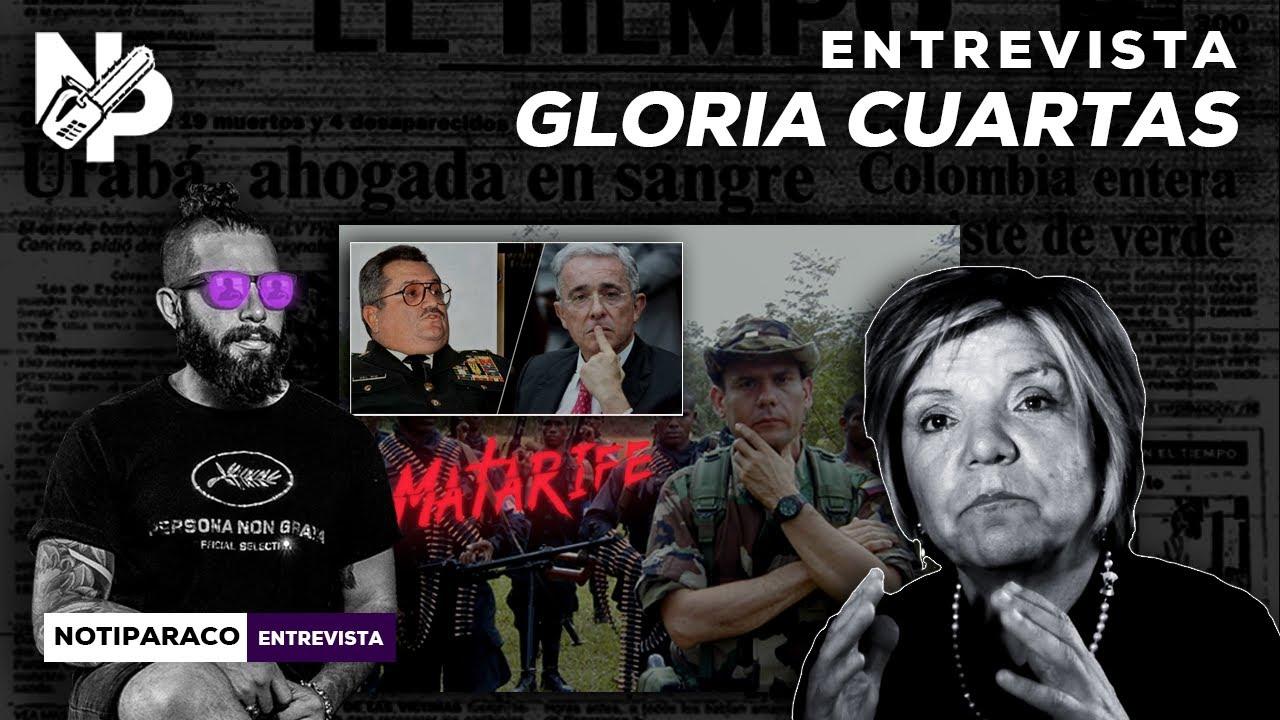 Sin Uribe y el Ejército no existiría el paramilitarismo en Colombia   Gloria Cuartas