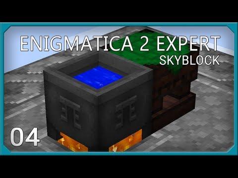 Enigmatica 2 Expert Skyblock EP4 Starting Thaumcraft + Liquid Starlight