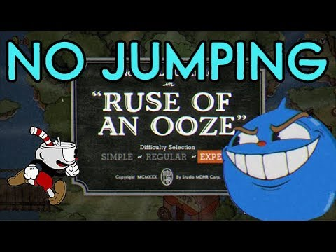Cuphead No Jump Challenge: Ruse of an Ooze