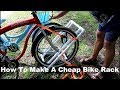 How To Make A DIY Bike Rack Out Of PVC Pipe