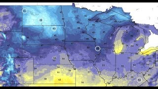 Record Cold USA During Summer in Dakotas & Great Lakes, Media Ignores (400)