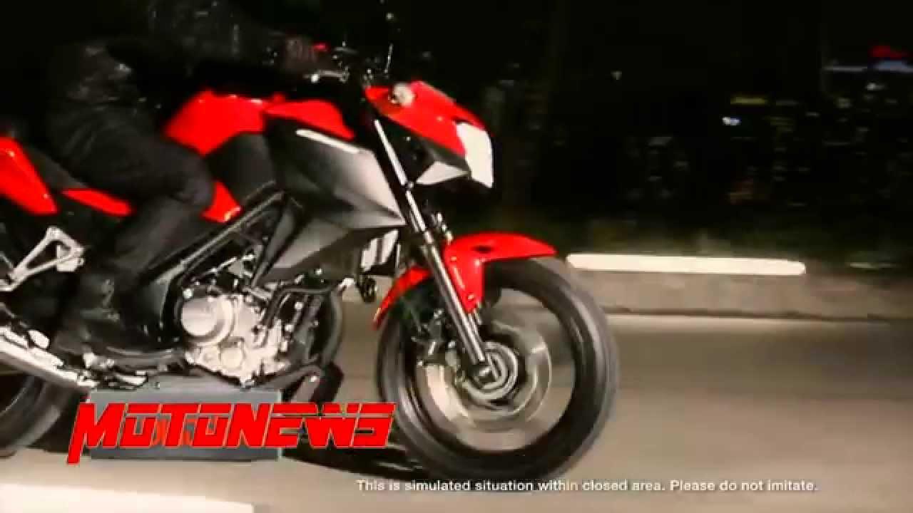 HONDA CB 300F 250F VIDEO PROMOCIONAL