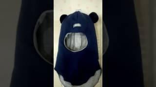 Шапка шлем от ТМ Beezy модель Мишка -odevashka.kiev.ua