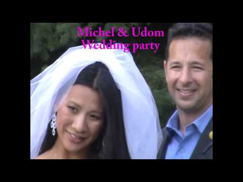 Michel & Udom wedding party
