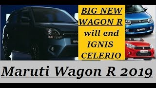 Maruti Wagon R 2019 in Big new Avatar can end the road for Ignis, Celerio