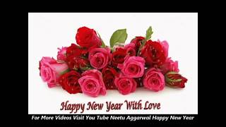 Happy New Year Wishes Flowers Animated Greetings Sms Quotes Sayings Wallpapers E card