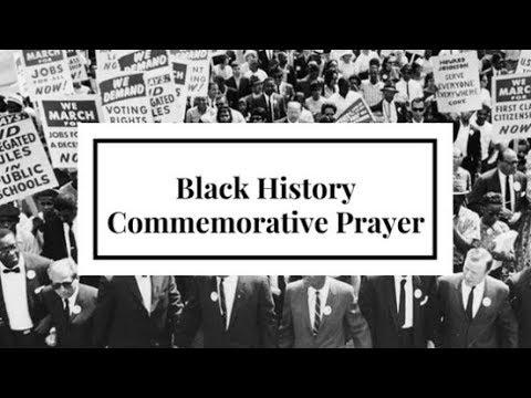 Black History Commemorative Prayer