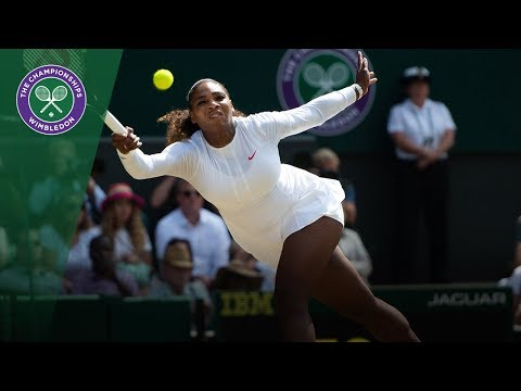Serena Williams vs Julia Goerges SF Highlights | Wimbledon 2
