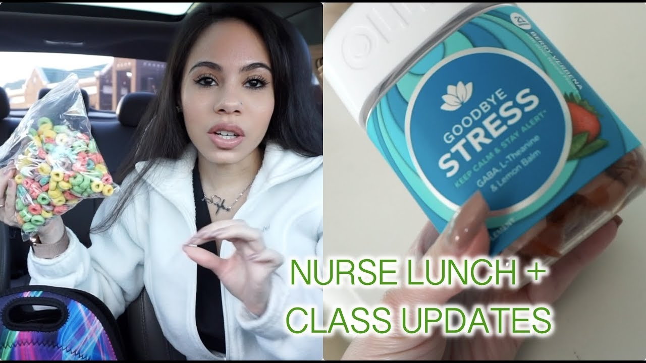 Vlog Work Day What S In My Nurse Lunch Bag
