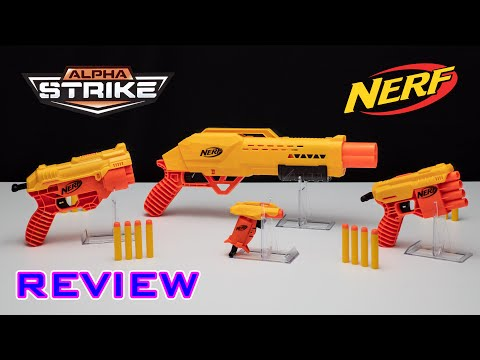 [REVIEW] Nerf Alpha Strike Series | Budget Series By NERF!
