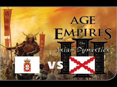 Age of Empires 3 - Port vs Spain  [ Port Boom Guide for 55 Orinoko Treaty ] Multiplayer Gameplay