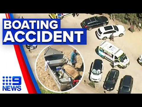 Man drowns in tragic boating accident | 9 News Australia thumbnail