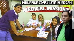 JEDDAH PHILIPPINE CONSULATE MEDICAL MISSION by COMMUNITY IN JEDDAH CARES//  PINOY OFWs //