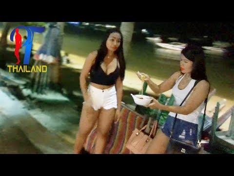 Night walk along the beach street (part 1) Vlog 102