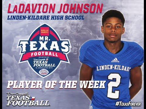 Announcing the Mr. Texas Football Player of the Week winner for Week 11