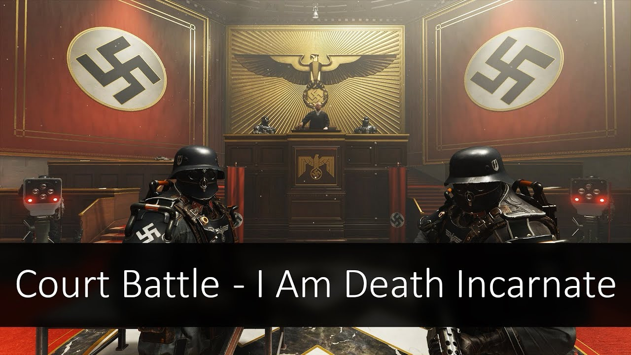 Wolfenstein  Court Room