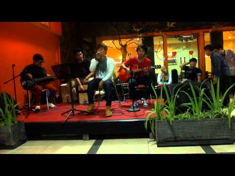 The Fight band (indonesia) - Wherever You Will Go cover at. OBekitchen Food Court